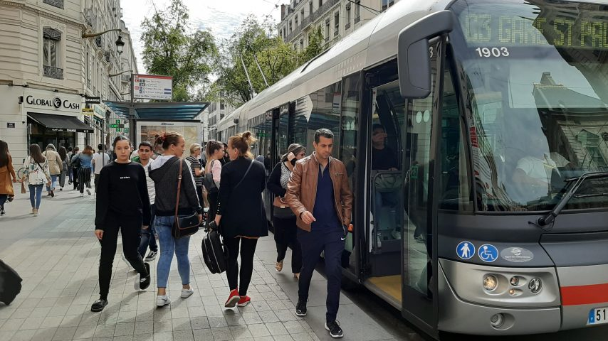 De nouvelles lignes créées dans les transports en communs lyonnais