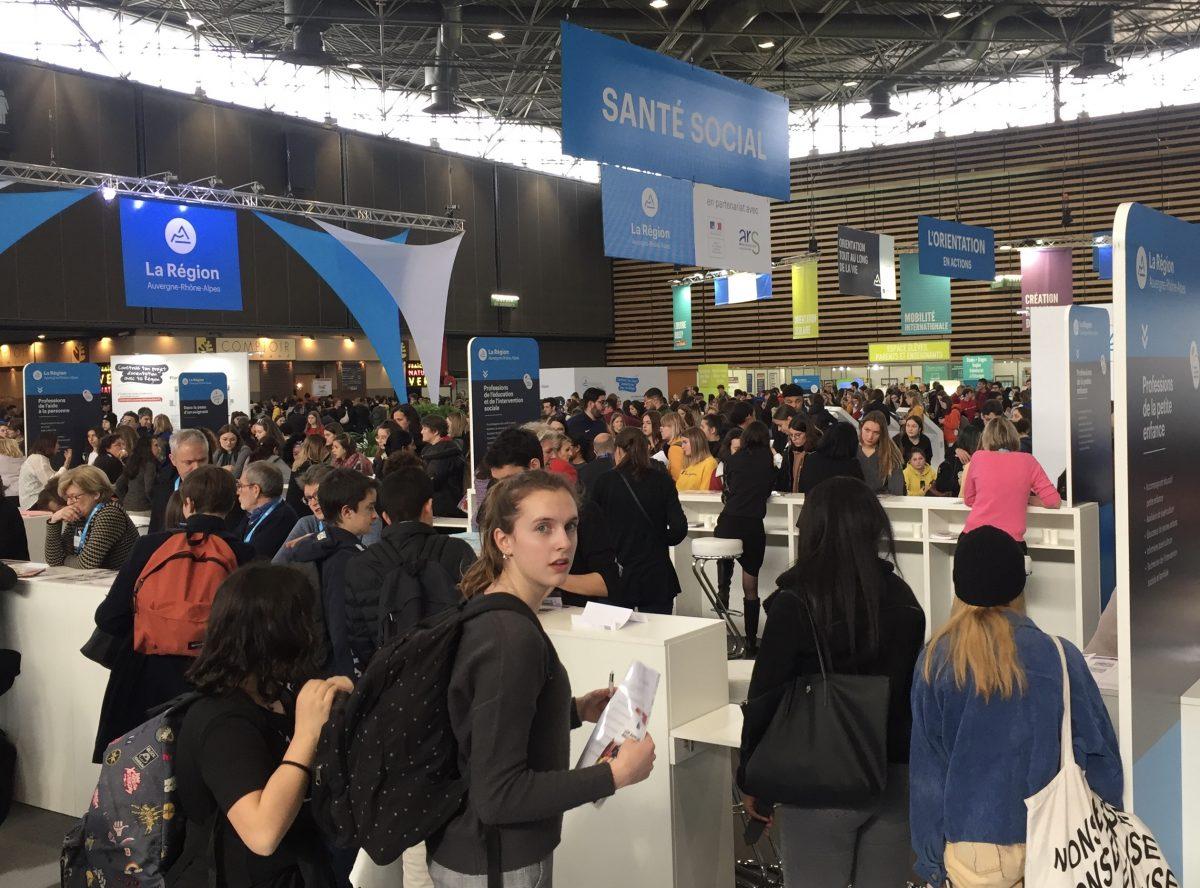 Espace Info Jeunes, partenaire du Mondial des Métiers pour aider à trouver sa voie