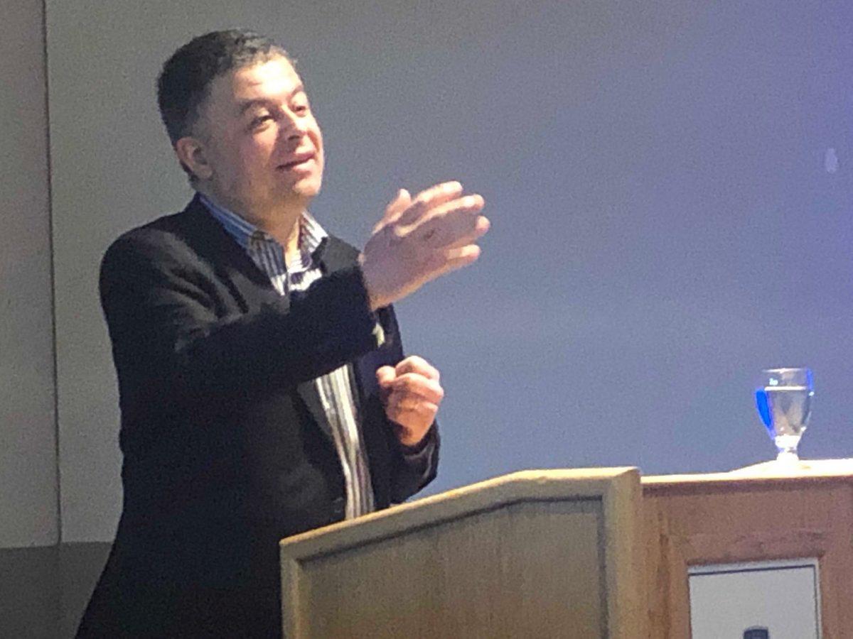 Yves Tiberghien à Clermont-Ferrand à l'invitation des EDC