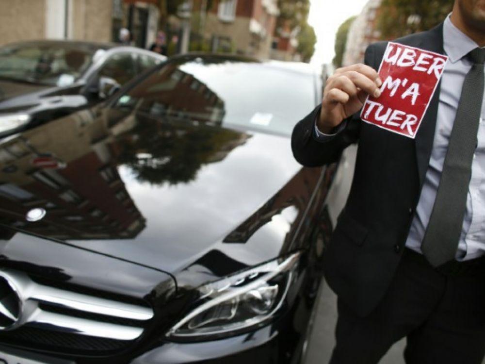 Les chauffeurs Uber lyonnais saisissent la justice