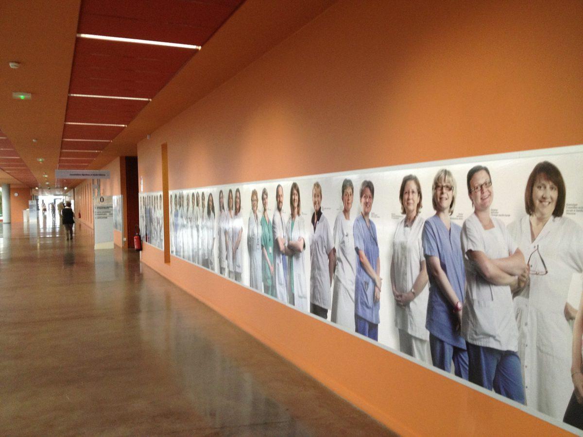 Coronavirus: les services administratifs soutiennent les soignants
