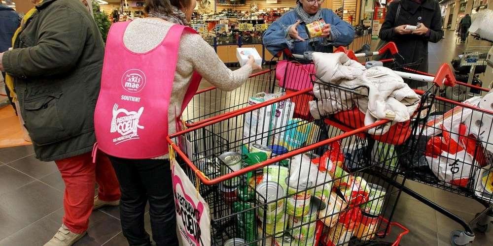 Un élan de solidarité dans les supermarchés Lidl