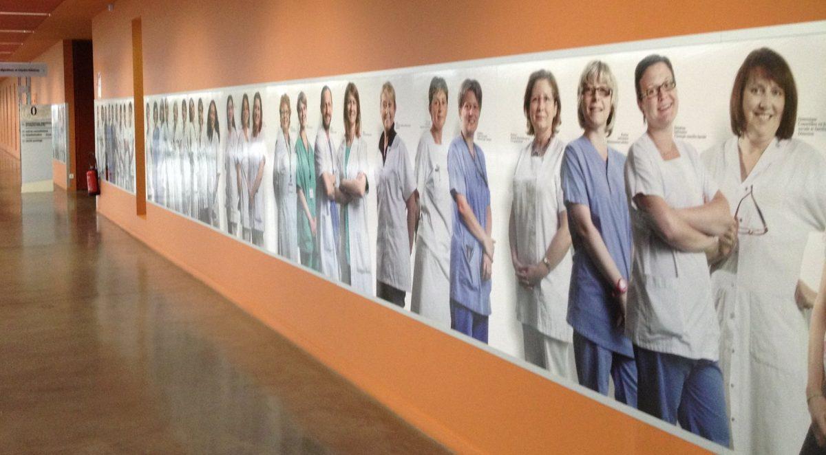 Coronavirus : Les services administratifs soutiennent les soignants