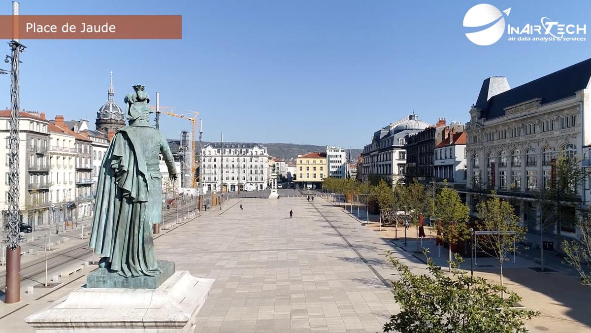 Images inédites  | Clermont-Ferrand, la belle endormie