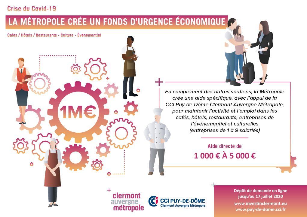 Soutien aux entreprises | La Métropole crée un fonds d'urgence économique