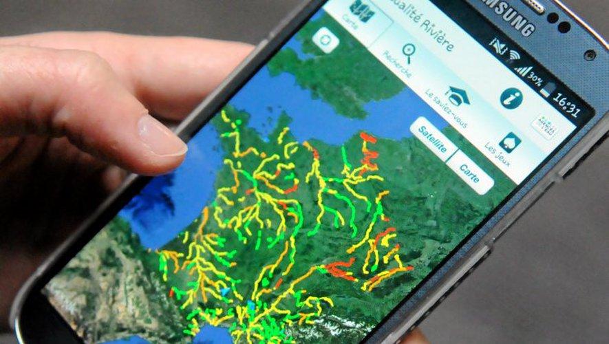 Appli  | Nos plus belles rivières à portée de smartphone