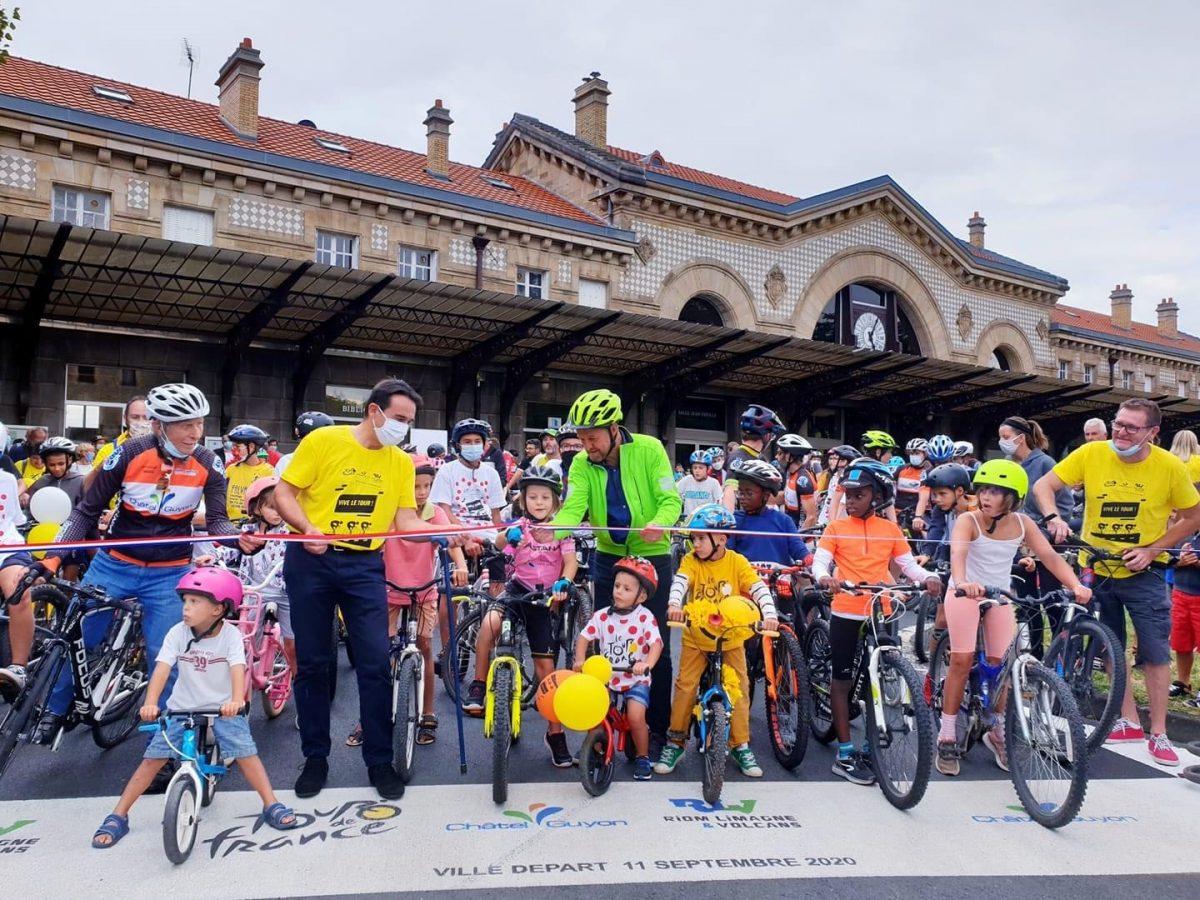 Dynamisme | Châtel-Guyon vit déjà au rythme du Tour de France