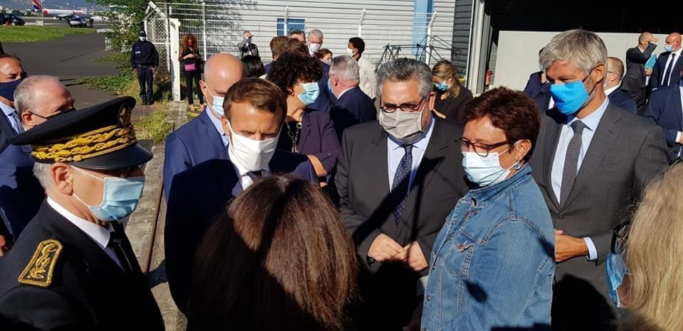 Visite  | Emmanuel Macron défend l'égalité des chances