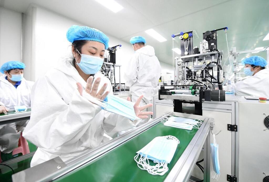 Balance commerciale  | + 1337 % d'importation de masques en provenance de Chine