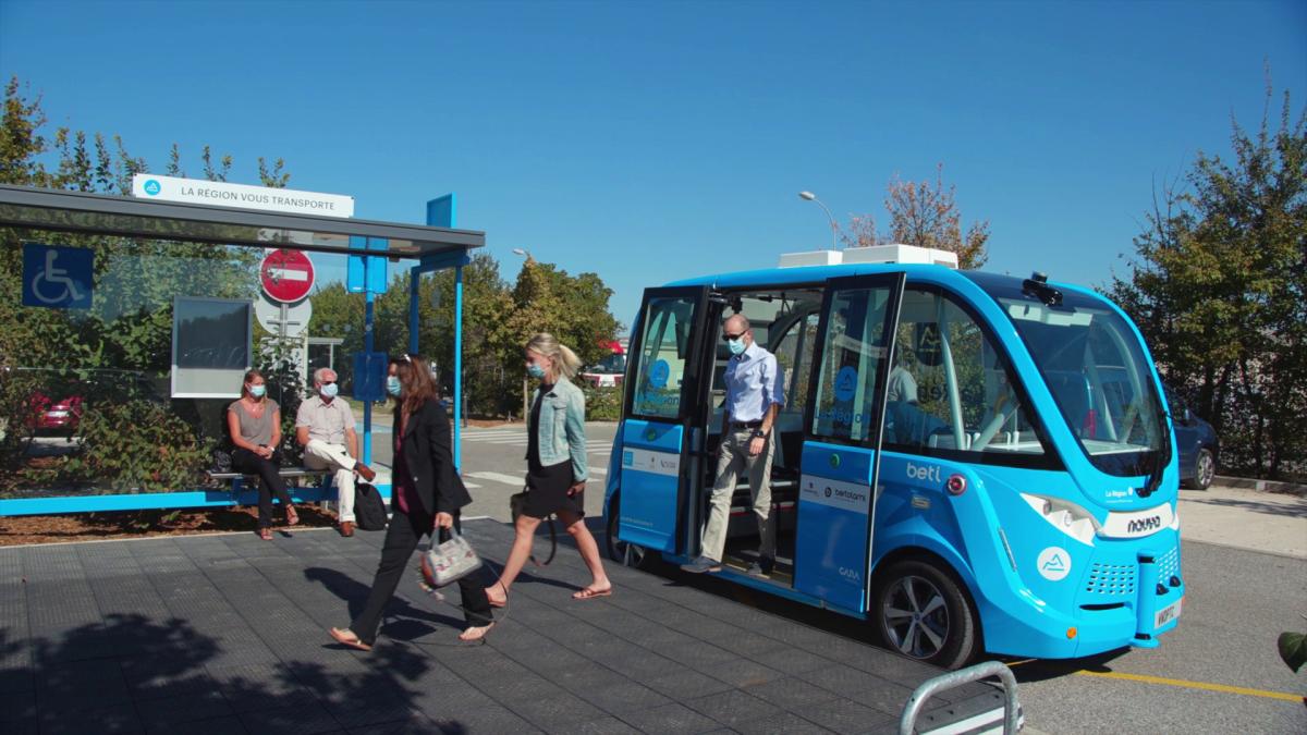Innovation  | Une navette autonome dans la Drôme au service des habitants