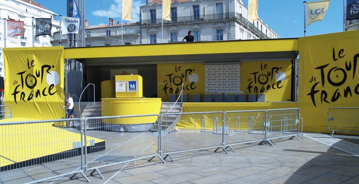 Tour de France | La région AURA se met au jaune