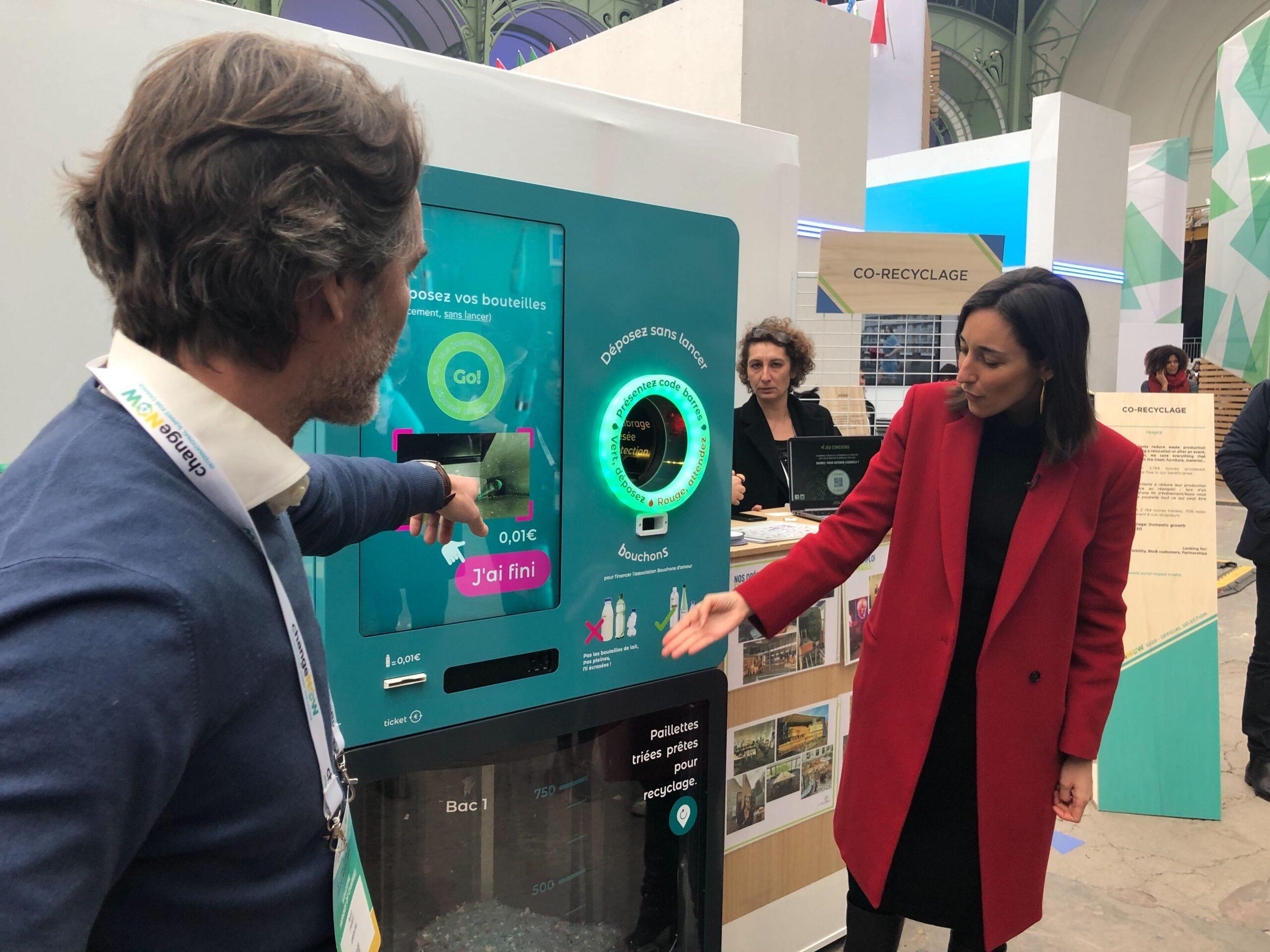 B:bot | Recyclage plastique dans les hypermarchés d'Ile-de-France