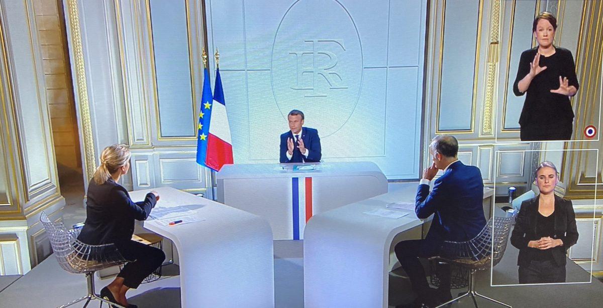 21 millions de Français devant Emmanuel Macron à la télévision