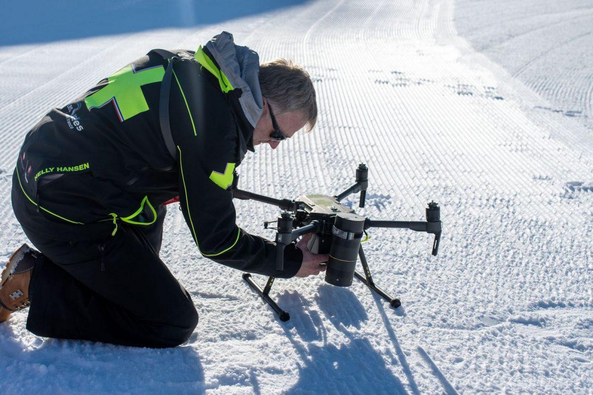 Val Thorens | Un drone pour la surveillance du domaine skiable