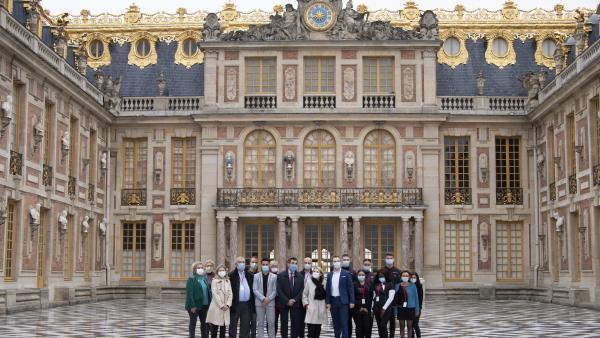 Château de Versailles   Les apprentis coiffeurs mis à l'honneur
