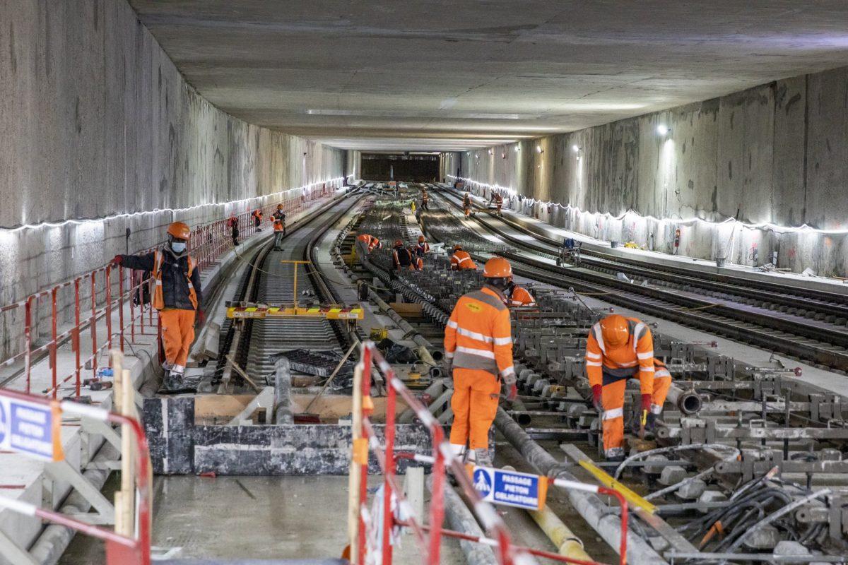 Grand Paris Express | Les premiers rails sont installés