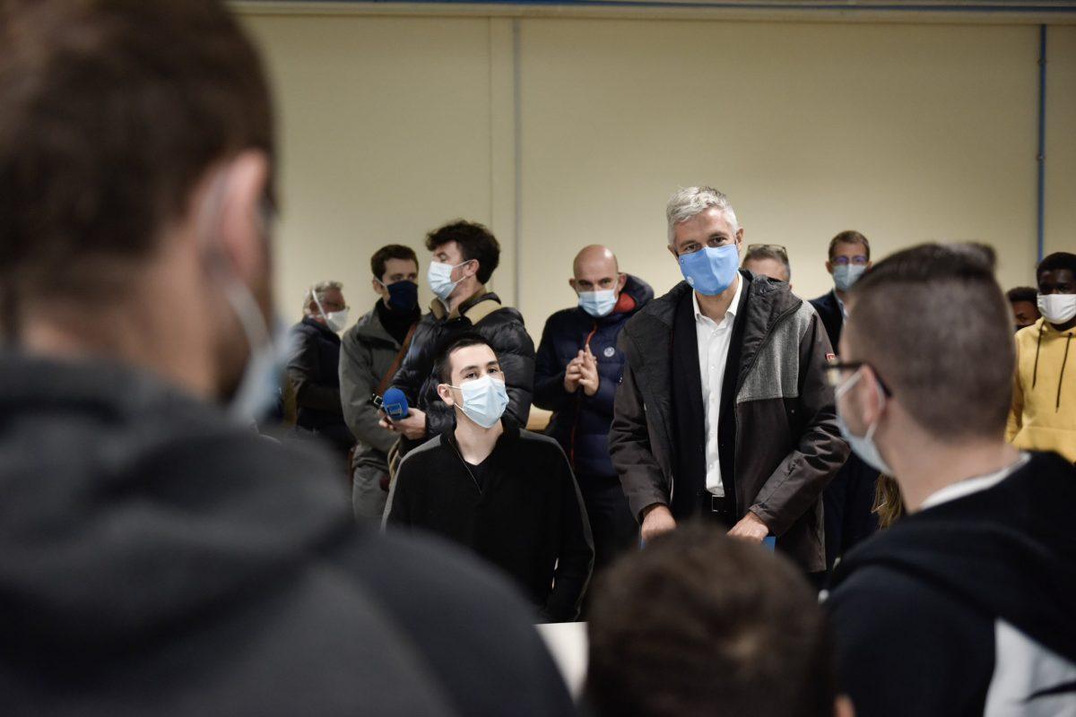 Lycée La Fayette | Un dispositif inédit de désinfection de l'air