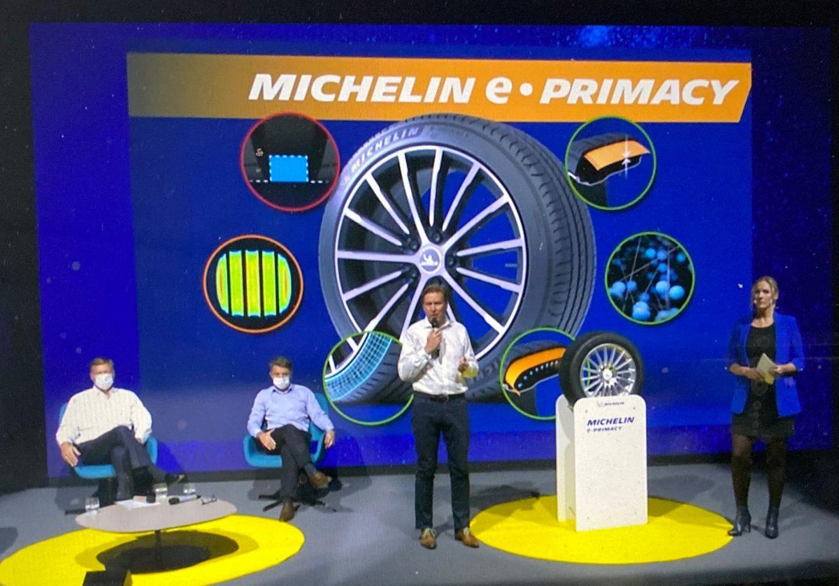 Michelin | Le pneu écoresponsable e.PRIMACY