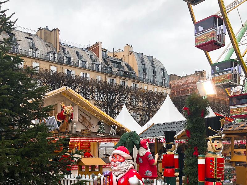 Commerces | Des stands de Noël autorisés par la Ville de Paris