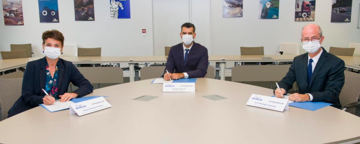 Michelin | Nouvelle alliance avec le canadien Pyrowave
