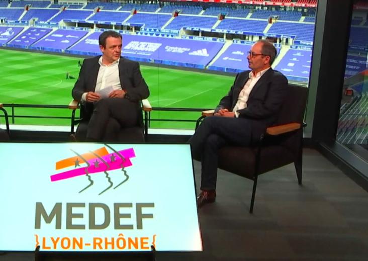 MEDEF Lyon-Rhône | Gilles Courteix succède à Laurent Fiard