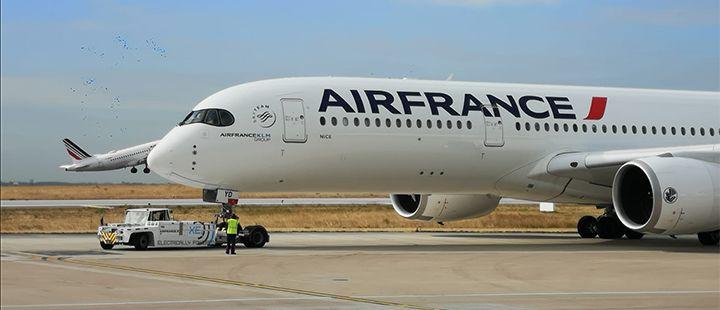 Michelin |Air France choisit le Groupe comme fournisseur exclusif de pneus