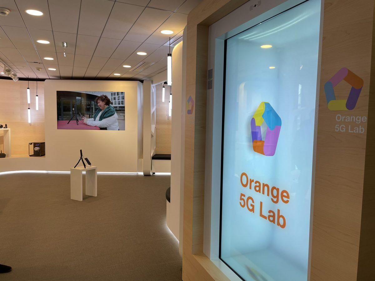Orange 5G Lab | Le premier espace ouvre au Campus Région du numérique