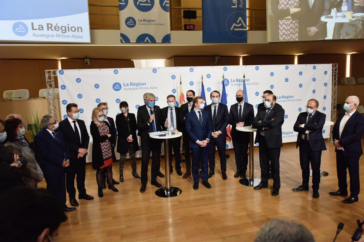 Lyon | La Région et 22 maires unis contre l'insécurité
