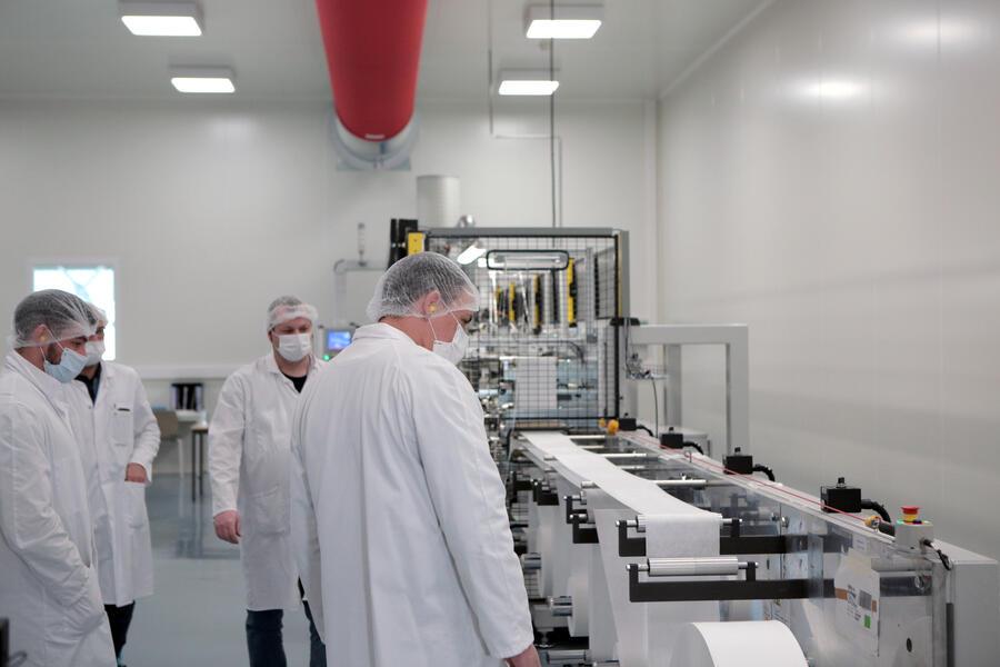 Michelin | Premier atelier automatisé de fabrication de masques en France