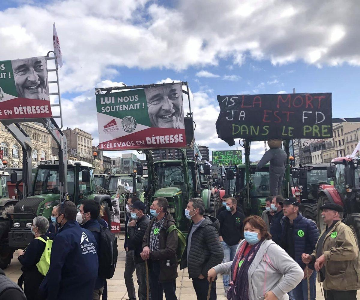 Agriculture |Manifestations à Lyon