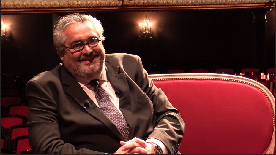 Lever de Rideau   Olivier Bianchi se livre dans un entretien intimiste