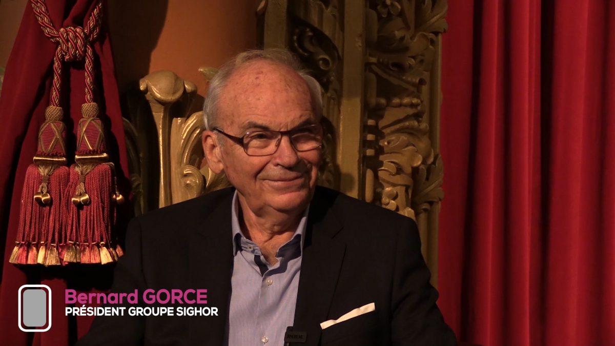 Lever de Rideau   Bernard Gorce, l'humilité à la tête de SIGHOR