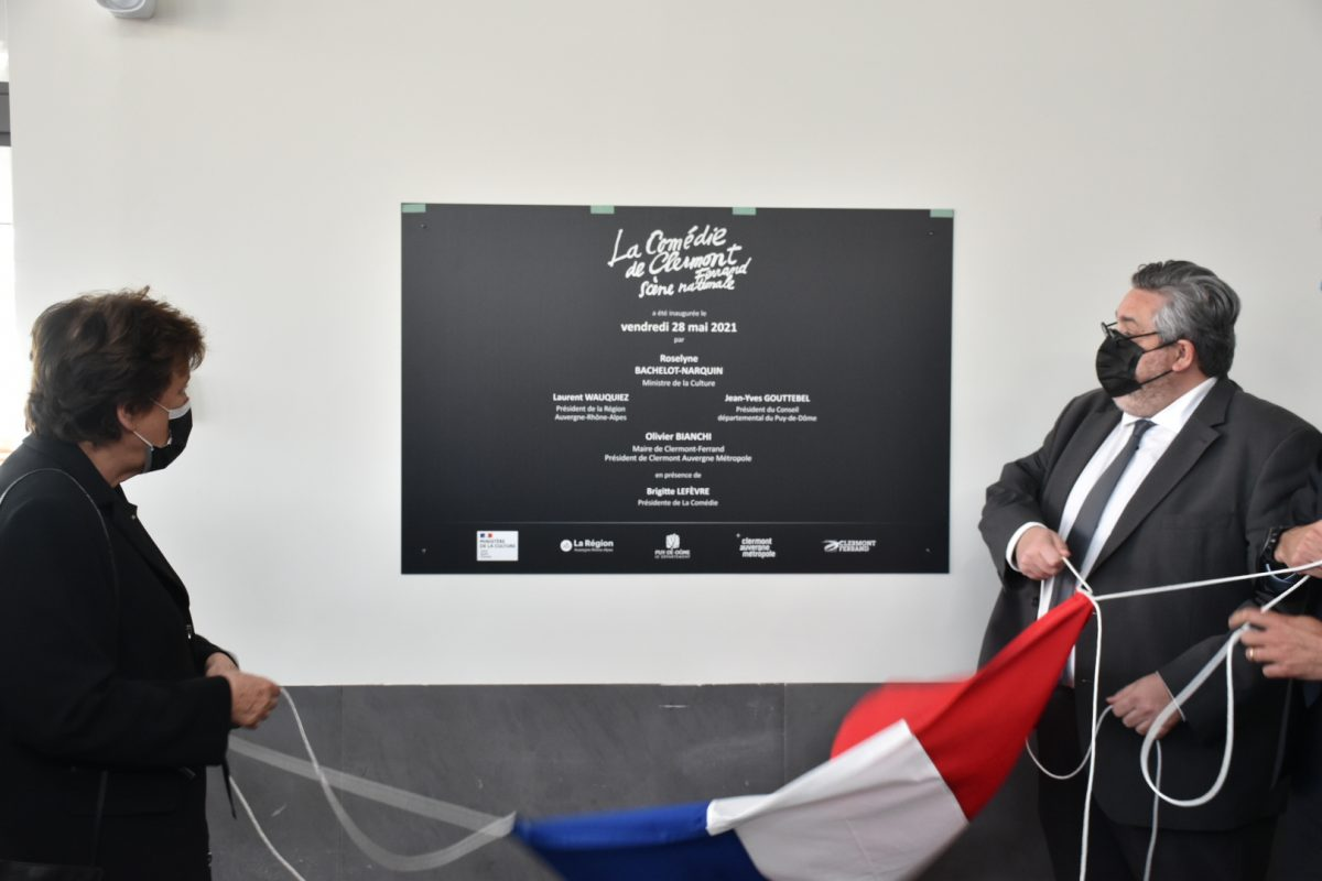 Culture | La Ministre en visite à Clermont-Ferrand