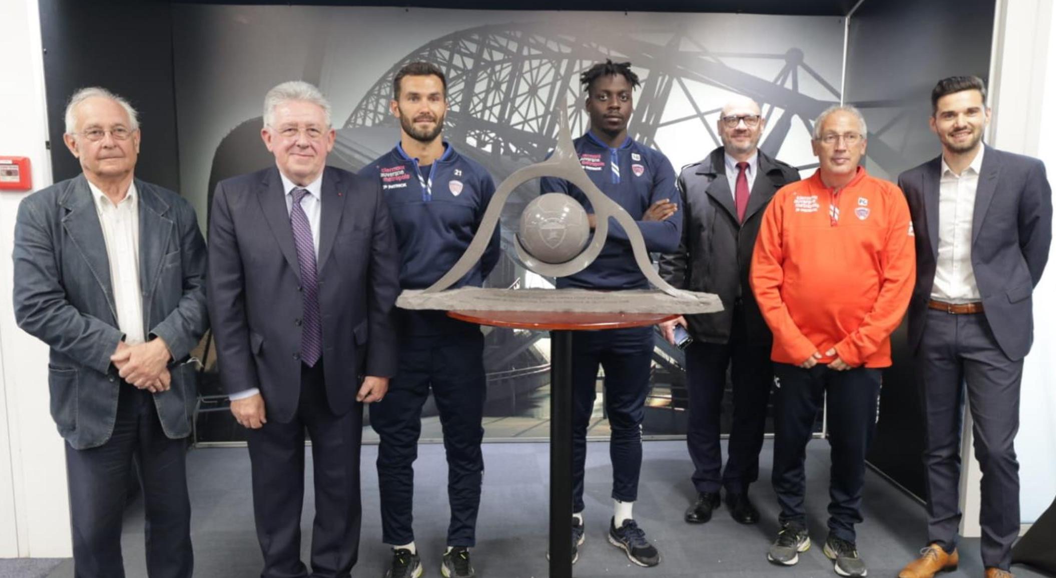Sport | Remise du trophée du Département au Clermont Foot