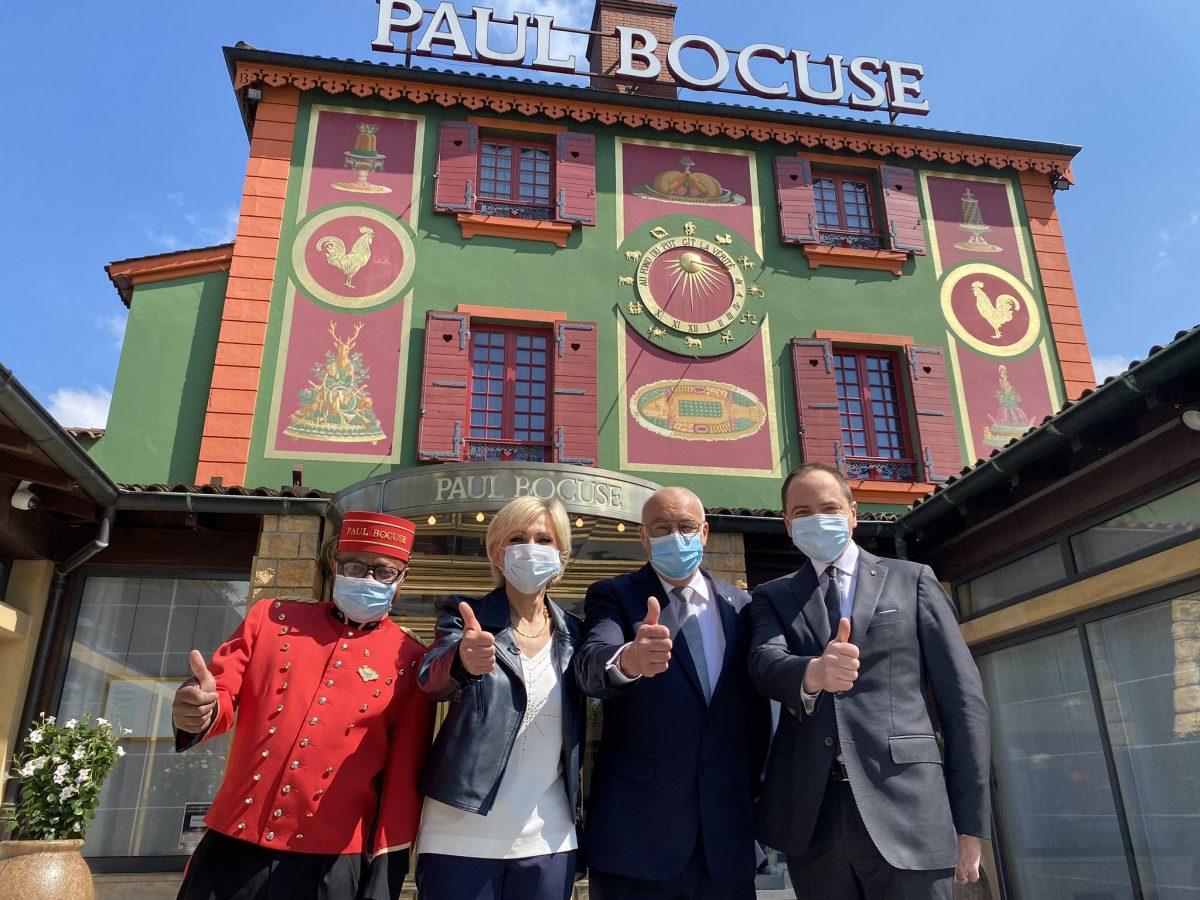 Culture   Goutez Voir fait sa dernière chez Paul Bocuse