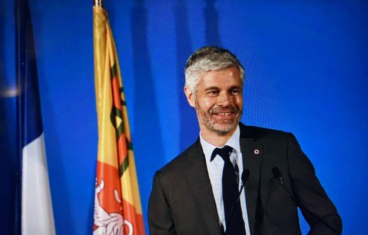 Régionales   Laurent Wauquiez l'emporte en AURA