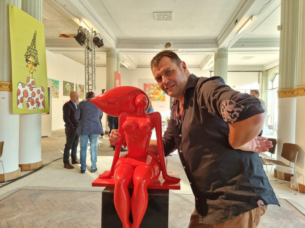 Culture | L'exposition François Groslière à Châtel-Guyon