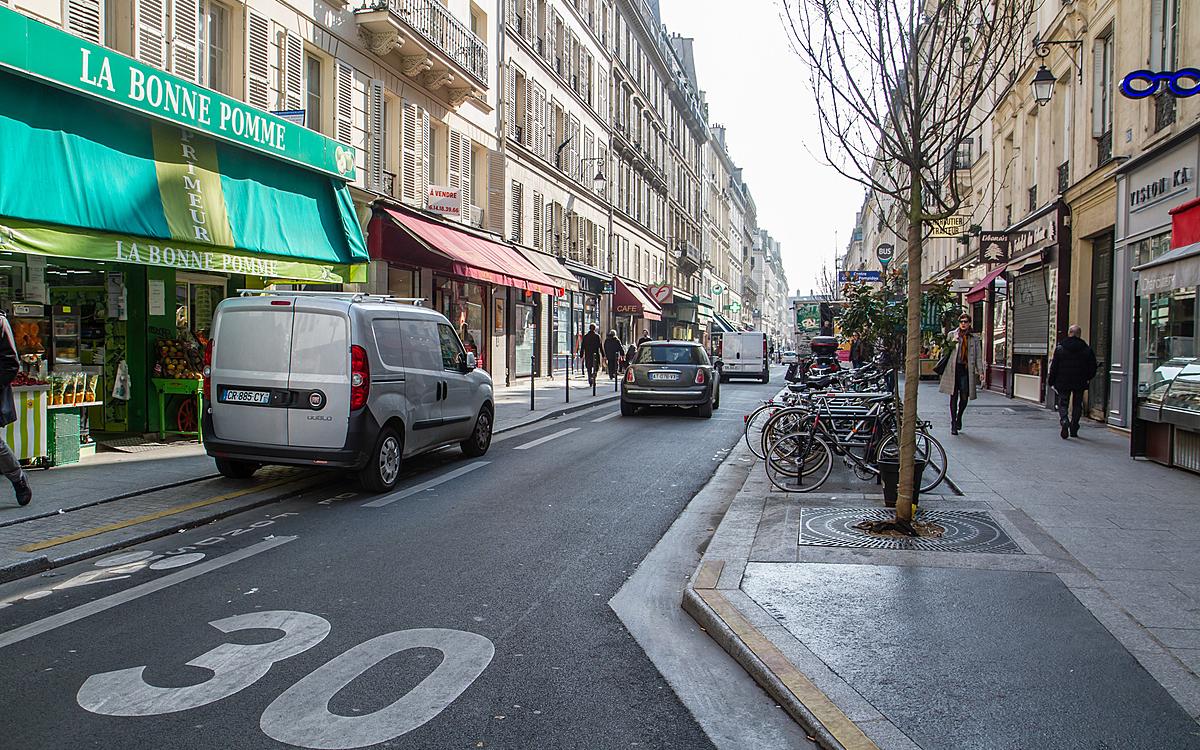 Paris | Vitesse limitée à 30 km/h dans la majorité des voies