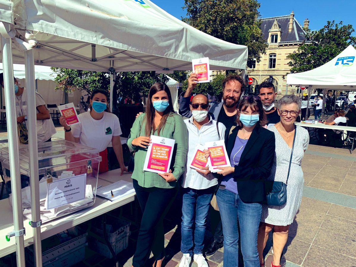 Budget participatif   Les parisiens peuvent aller voter !