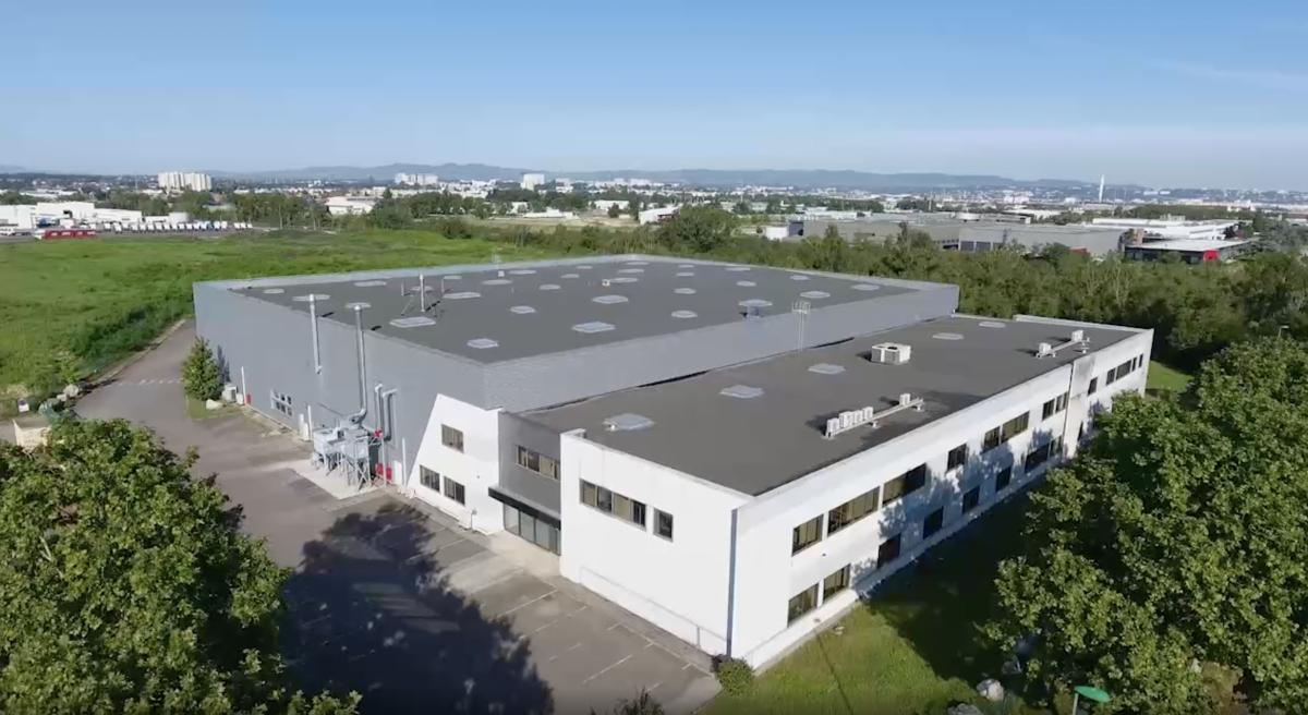 Industrie   Un nouveau site industriel MedicalGroup