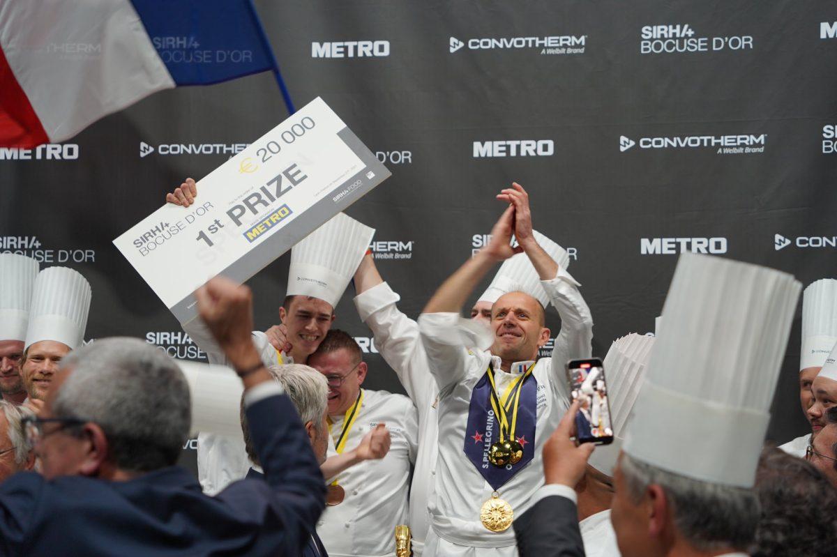 Bocuse d'Or | La France sur la première place du podium !