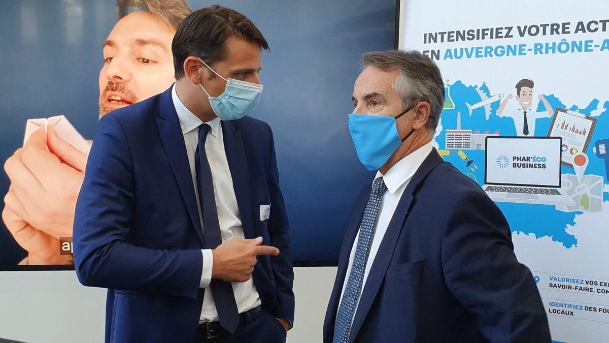 AURA Entreprises | Franck Colcombet à la présidence