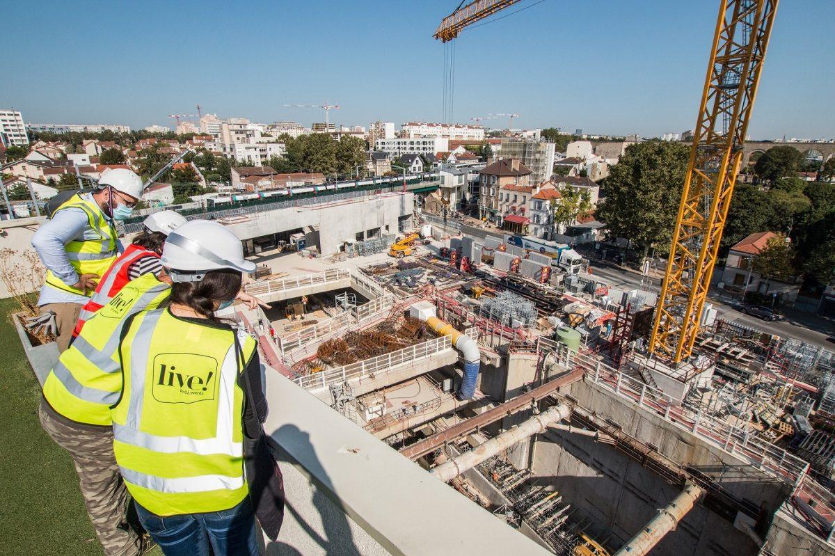 Grand Paris Express | 40 chantiers ouverts au public