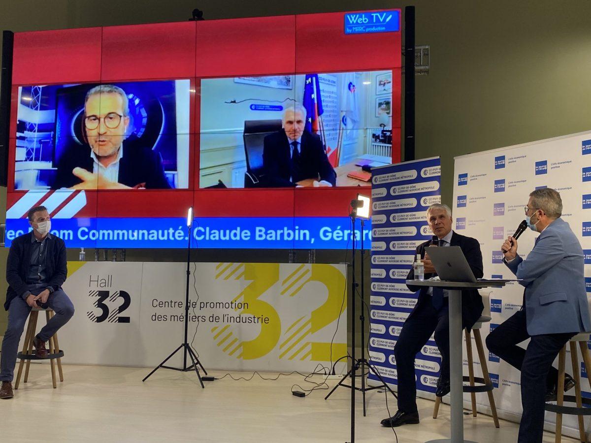 Vidéo   Claude Barbin, invité de la Grande Soirée de l'Eco