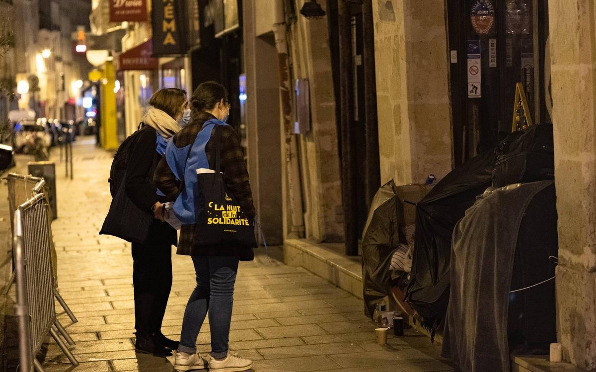 Paris   5ème édition de la Nuit de la Solidarité